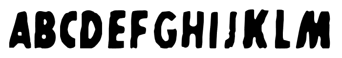 SHARKBOY and lavagirl Font LOWERCASE