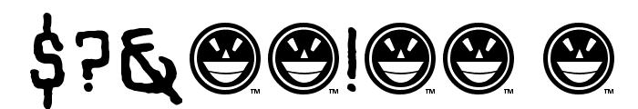 SHARRPE GOTHIK Font OTHER CHARS