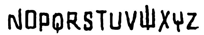 SHARRPE GOTHIK Font UPPERCASE