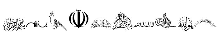 SHia Font OTHER CHARS