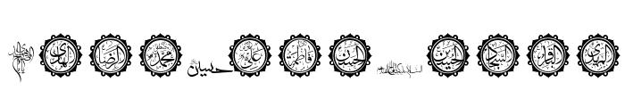 SHia Font UPPERCASE