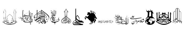 SHia Font LOWERCASE