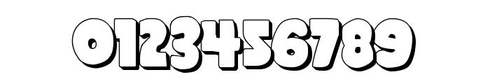 Shablagoo 3D Font OTHER CHARS