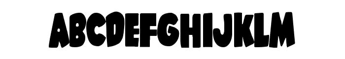 Shablagoo Condensed Font LOWERCASE