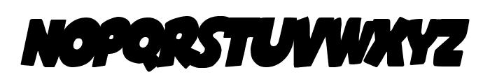 Shablagoo Overlap Italic Font LOWERCASE