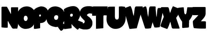 Shablagoo Overlap Font UPPERCASE
