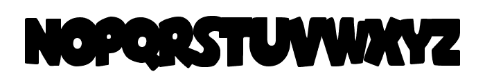 Shablagoo Overlap Font LOWERCASE