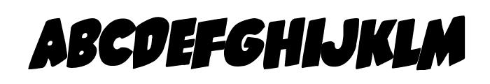 Shablagoo Rotalic Font LOWERCASE