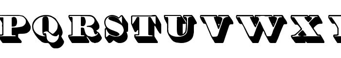 Shadded tfb Font LOWERCASE