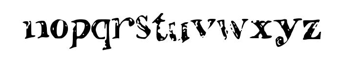 ShadedLetters Font LOWERCASE