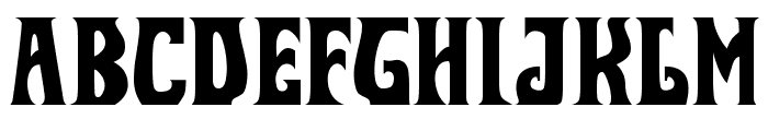 ShadesRech0 Font LOWERCASE