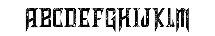 Shadows of Security Font UPPERCASE