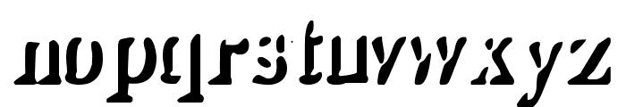 Shady Lady Font LOWERCASE
