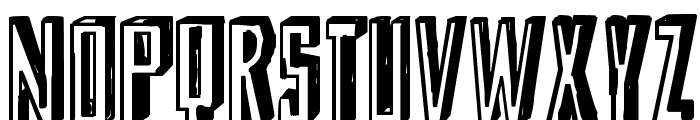 Shady Lane Font UPPERCASE