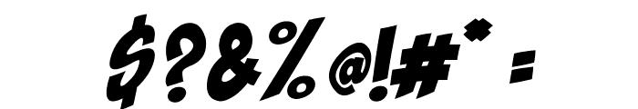 Shaka Pow Font OTHER CHARS