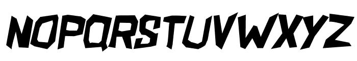 ShakeAndBake Italic Font LOWERCASE