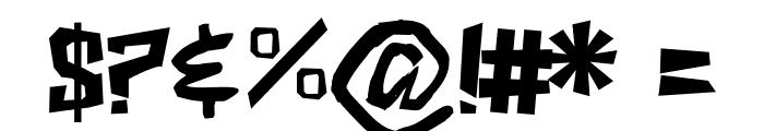 ShakeAndBake Font OTHER CHARS