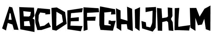 ShakeAndBake Font UPPERCASE