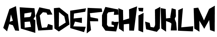 ShakeAndBake Font LOWERCASE