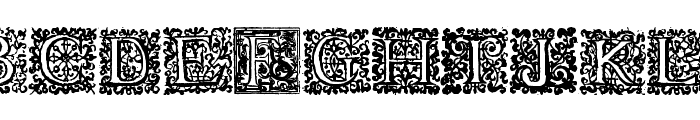 Shakespeare To Be Or Not To Be Font UPPERCASE