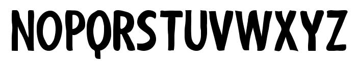 ShakyHandSomeComic-Bold Font UPPERCASE
