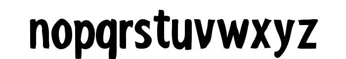 ShakyHandSomeComic-Bold Font LOWERCASE