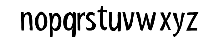ShakyHandSomeComic Font LOWERCASE