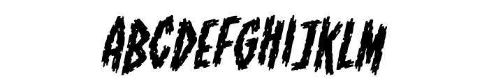 ShallowGrave BB Italic Font LOWERCASE