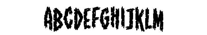 ShallowGrave BB Font LOWERCASE
