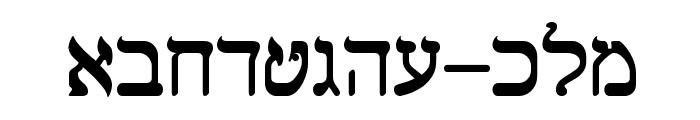 Shalom Old Style Font LOWERCASE