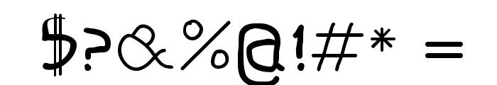 ShalomMK Font OTHER CHARS