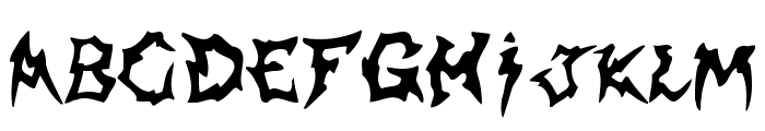 Shaman Font UPPERCASE
