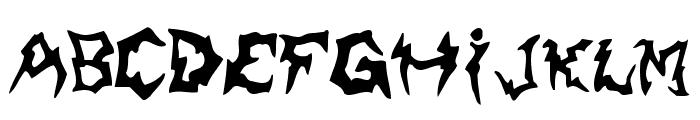 Shaman Font LOWERCASE
