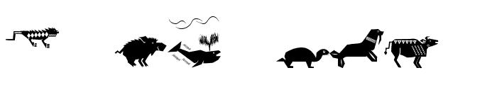 Shamanish Font OTHER CHARS