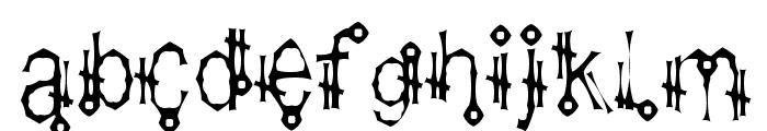 Shamantics Gothick Font LOWERCASE