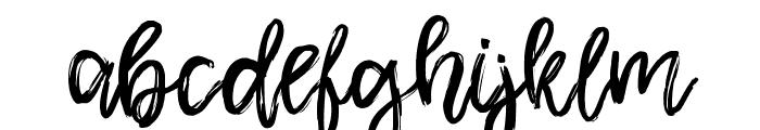 Shamber Font LOWERCASE