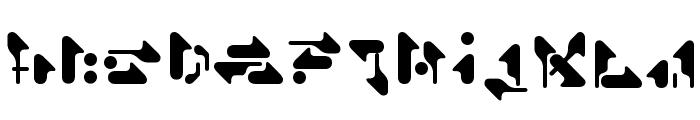 Shamen Remix Font LOWERCASE