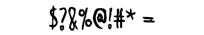 Shangri-La Font OTHER CHARS