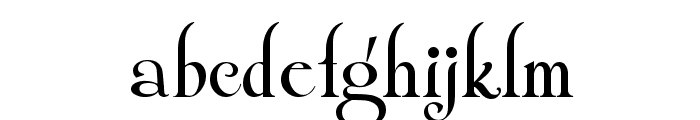 ShangriLaNF Font LOWERCASE