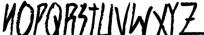 Shank Bold Font UPPERCASE