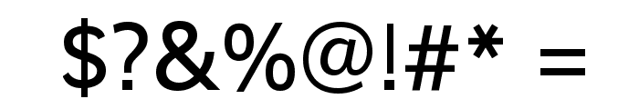 Shanti Font OTHER CHARS