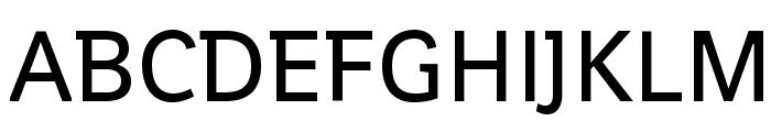 Shanti Font UPPERCASE