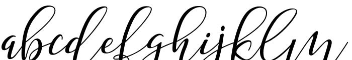 Shany Regular Font LOWERCASE