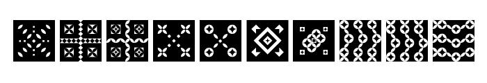 Shapes Regular Font OTHER CHARS