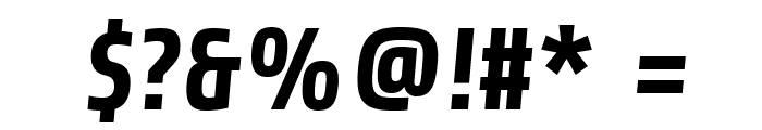 Share-BoldItalic Font OTHER CHARS
