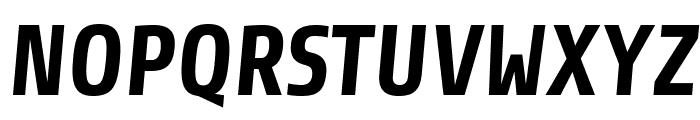 Share-BoldItalic Font UPPERCASE