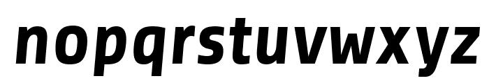 Share-BoldItalic Font LOWERCASE