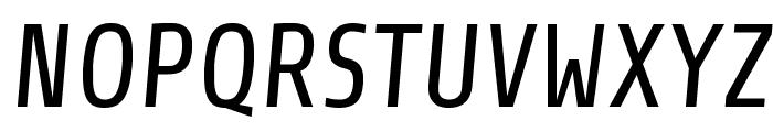 Share Italic Font UPPERCASE