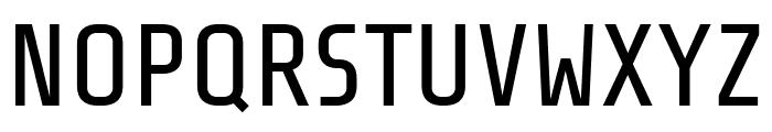 Share Tech Regular Font UPPERCASE