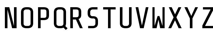 Share-TechMono Font UPPERCASE